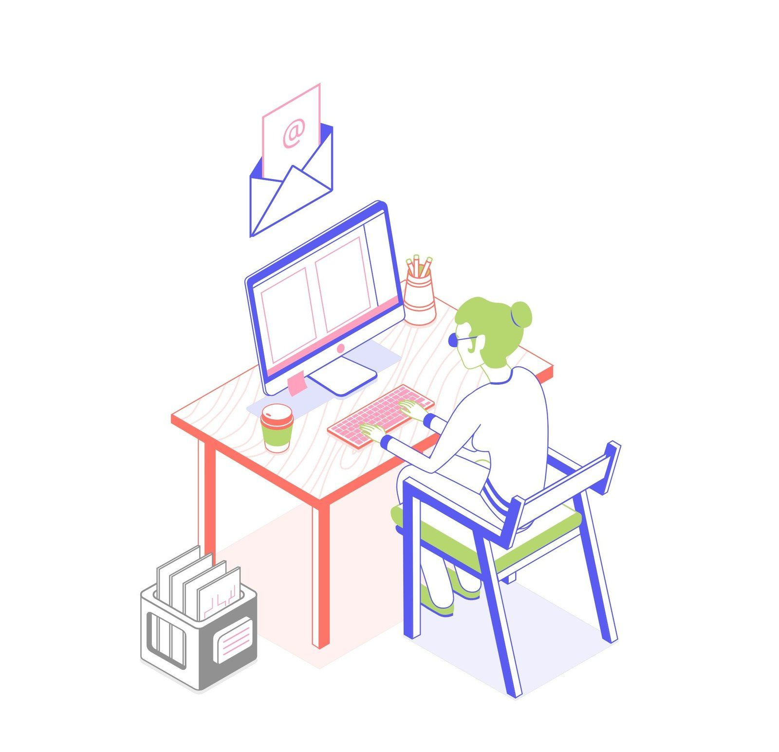Lawyer Job Search With Women At Computer